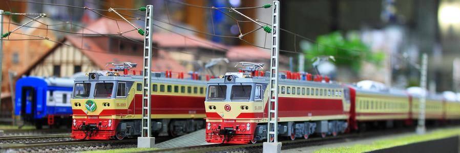 百万城df7c电力机车模型