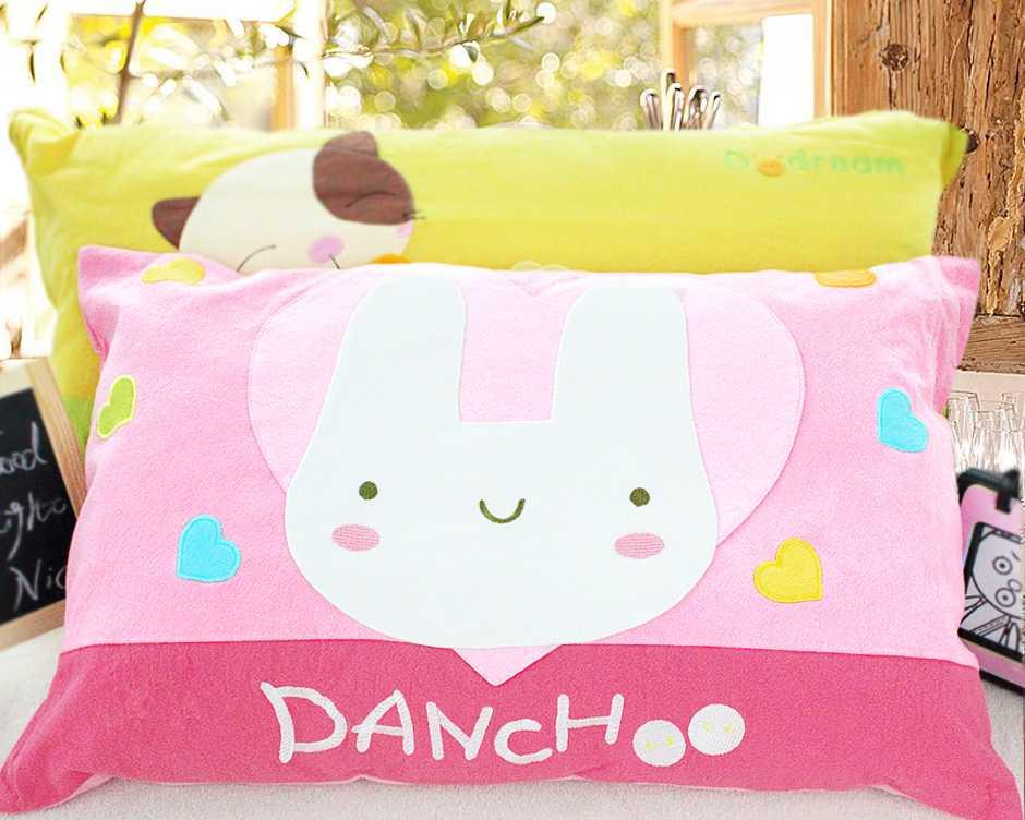 卡通动物可爱儿童枕头午睡枕