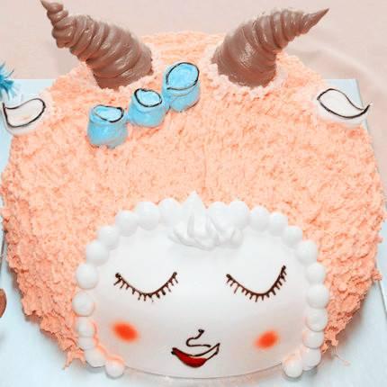 儿童生日蛋糕卡通喜羊