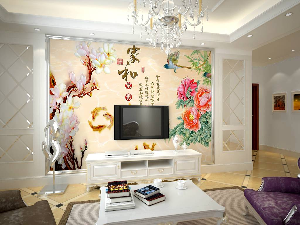 欧式家装3d立体客厅卧室无纺布壁纸电视背景墙壁纸 宫廷轻奢欧式 鎏金